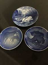 Royal Copenhagen & Kaiser Mothers Day Plates - 1972, 1996, 1976