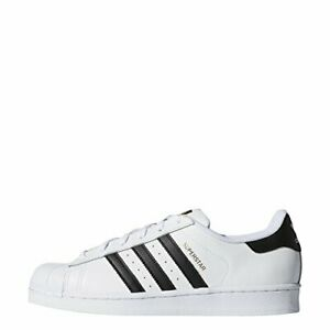 adidas Originals Women's Superstar Sneaker, White/Black/White, Size 6.5 OJ6d