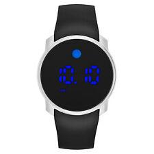 Movado Men's Digital Bold Black Silicone Strap Watch 45mm 3600146