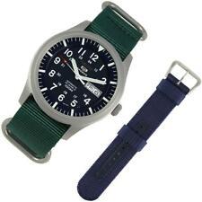 Brand NEW Seiko 5 Sport BlueGreen Nylon 2 Strap PROMO SNZG11K1 SNZG11 Dive Watch