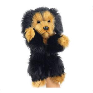 HANSA WALDI DOG DACHSHUND PUPPET REALISTIC CUTE SOFT ANIMAL PLUSH TOY 35cm **NEW