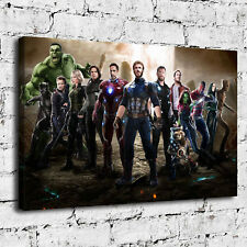 Avengers Superhero Paintings HD Print on Canvas Home Decor Room Wall Art Picture
