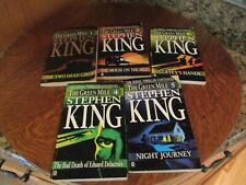Stephen King's The Green Mile Series 1-5 1st Printing A Serial Thriller Incompl