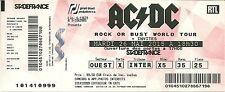 RARE / TICKET CONCERT - AC/DC AC / DC LIVE A PARIS STADE DE FRANCE 25 MAI 2015