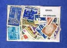 Israele 100 francobolli diversi