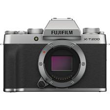 Fujifilm X-T200 Numérique sans Miroir Corps Appareil Photo - Argent