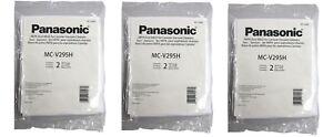 Panasonic MC-V295H Type C-19 Canister HEPA Vacuum Bag 6PK