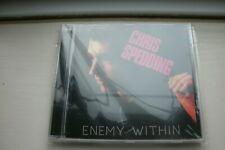 "CHRIS SPEDDING ""ENEMY WITHIN"" REMASTERED CD WITH BONUS TRACKS"