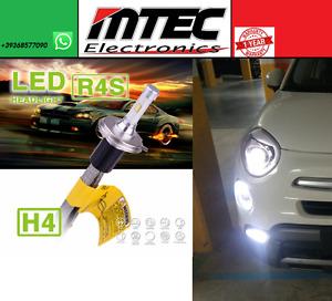 Set Mtec LED H4 6000K 10400LM Canbus Kein Xenon Fiat 500X 500L Canbus 500