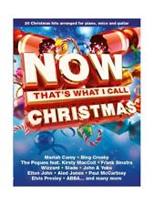 Learn to Play Now That's What I Call Christmas Piano Vocal & Guitar MUSIC BOOK