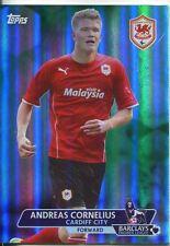 Premier Gold Soccer 13/14 Green Parallel Base Card [/99] #115 Andreas Cornelius