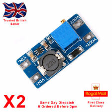 x2 MT3608 2A DC-DC Voltage Step Up Adjustable Boost Converter Module Arduino PI.