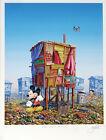 Jeff Gillette - Mickey's Cartoon Shack - Hand Embellished Art Print 3/6 - Banksy