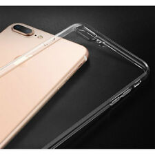 Luxury Ultra Slim Clear Silicone Case COVER For iPhone 8