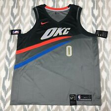 Oklahoma City Thunder #6 Hamidou Diallo NEWCity Edition Swingman Jersey