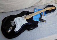 Behringer Stratocaster V Tone Electric Guitar w/ Satin Neck, Soft Case & Book