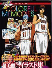 Kuroko's Basketball Tv Animation Illustrations - Colorful Memories