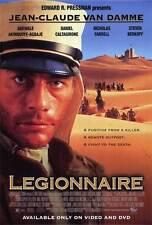 LEGIONNAIRE Movie POSTER 27x40 Jean-Claude Van Damme Nicholas Farrell Steven