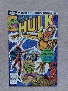 The Incredible Hulk #259 Marvel Comics 1981