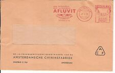 Malaria Netherlands Meter Stamp Cover 1964  QUININE fact. CHININ KININE Afluvit