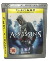 Assassin's Creed -- Platinum Edition (Sony PlayStation 3, PS3, 2008)