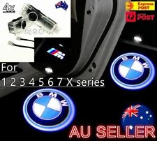 4x Logo Projector Welcome Courtesy Door Puddle Lights for BMW M Performance