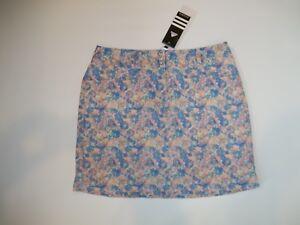 ADIDAS Golf Hombre Pastel Floral Tour Golf SKORTS skort Womens Size 12  $75 NEW