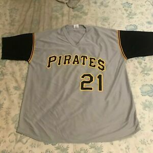 ROBERTO CLEMENTE Jersey - PITTSBURGH PIRATES - Game Day Promotion - XL