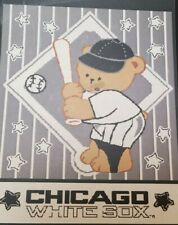 Chicago White Sox MLB Woven Jacquard Baby Throw Blanket NEW CUTE Baseball
