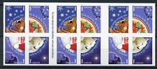 USA 2017 MNH Christmas Carols 20v S/A Booklet Father Christmas Stamps