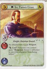 3 x Ser Parmen Crane AGoT LCG 1.0 Game of Thrones Kings of the Storm 6