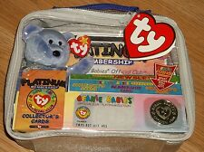 1999 Ty Beanie Babies-Official Club Platinum Membership Case! New With Tag!