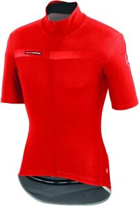 Castelli Men's Gabba 2 Red Short Sleeve Cycling Jacket Large : SUPER CLEARANCE