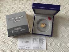 Pièce de 5 € en or France 2008 - La Semeuse - cinquantenaire de la Ve République
