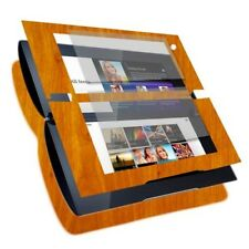 Skinomi Light Wood Full Body Phone Skin+Screen Protector Cover for Sony Tablet P