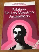 Libro Palabras De Los Maestros Ascendidos Vol I por Conny Mendez