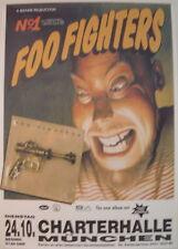 FOO FIGHTERS CONCERT TOUR POSTER 1995 DEBUT ALBUM