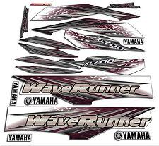 2001 Yamaha xl700 wave runner decals stickers Waverunner 700 xxl graphics kit