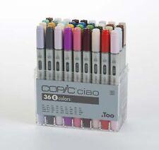 Copic Ciao Marker Set - 36 Pens - SET E - NEW COLOURS !