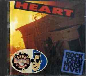 HEART Rock The House Live CD Sealed