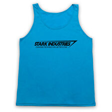 STARK INDUSTRIES UNOFFICIAL TONY IRON MAN MARVEL HERO ADULTS VEST TANK TOP