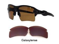 Galaxie verres de rechange pour Oakley PARE-BALLE 2.0 XL Lunettes soleil marron