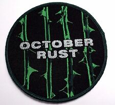 type o negative october rust    WOVEN  PATCH