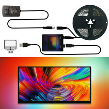5V RGB WS2812B Backlight LED-Streifen Licht USB PC Desktop Dream Screen Monitor