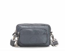Kipling Multiple Waist/Shoulder Bag/Bumbag STEEL GREY METALLIC FW19  RRP £67