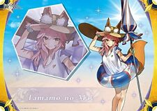 Fate Grand Order Lancer Tamamo no Mae Card Game Character Rubber Play Mat Anime