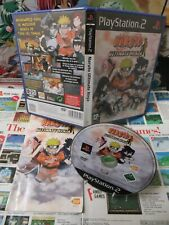 Playstation 2 PS2:Lot Naruto Ultimate Ninja 1 & 5 [TOP & 1ERE EDITION] Fr