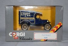1985 Corgi Classics Diecast Ford Model T Van C865 (Box 23)