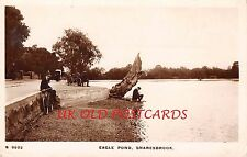 London, SNARESBROOK- Eagle Pond  - Real Photographic Postcard.