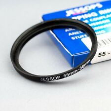 JESSOPS 55-58mm STEP UP (STEPPING) FILTER RING ADAPTER (55mm-58mm)
